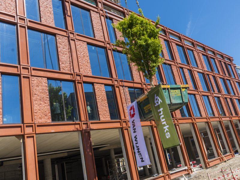 Viering hoogste punt Lorentz in Leiden
