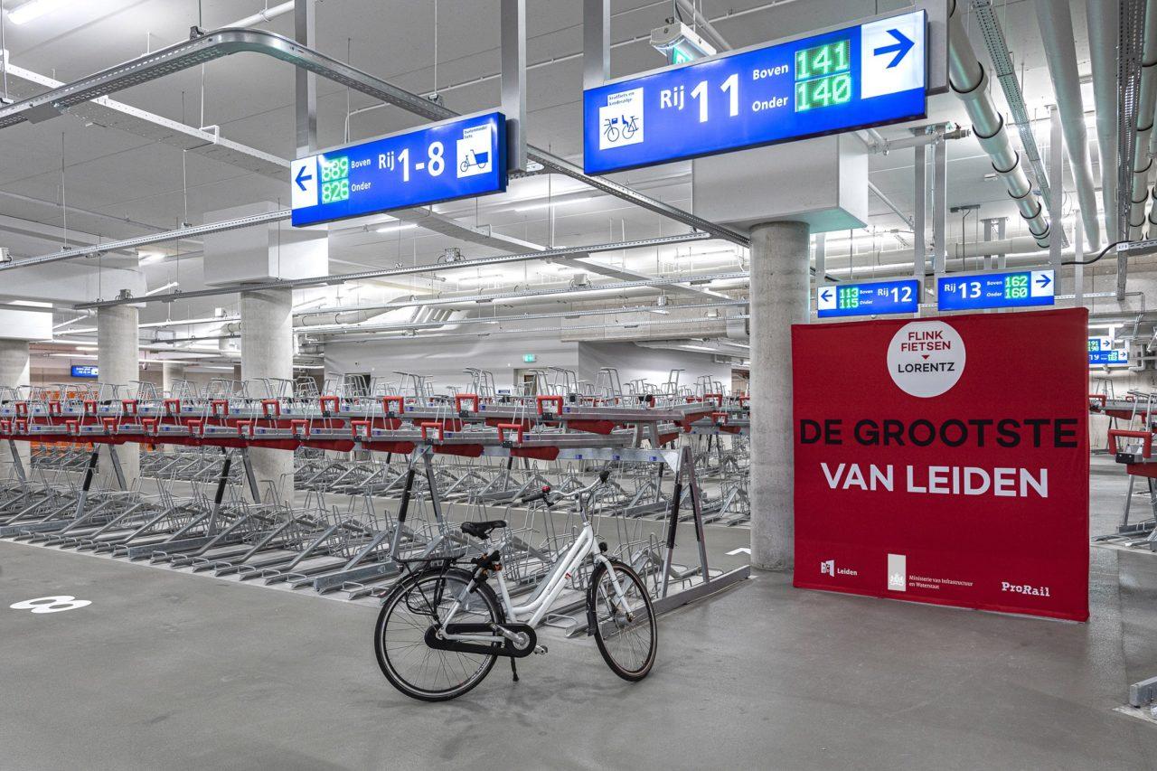 Lorentz opening fietsenstalling