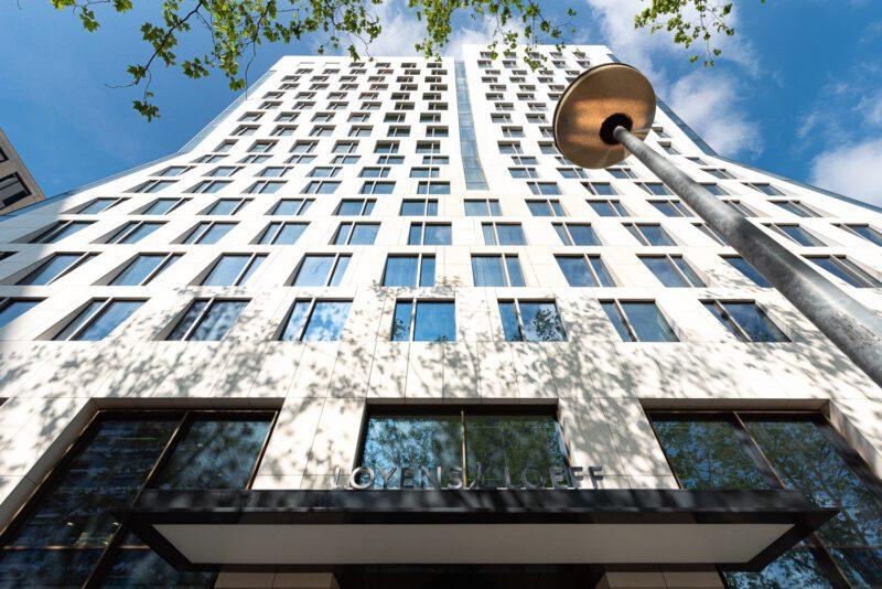 Hurks levert imposant Hourglass op aan de Amsterdamse Zuidas