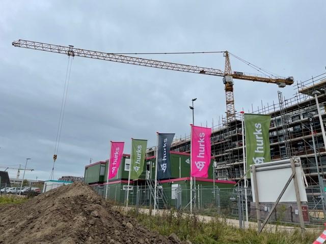 Hoogste punt bereikt bij Hooge Steenen Parkblok in Utrecht